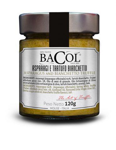Gourmet_crema_di_Asparagi_e_tartufo_bianchetto_Bacol_prodotto_etichetta