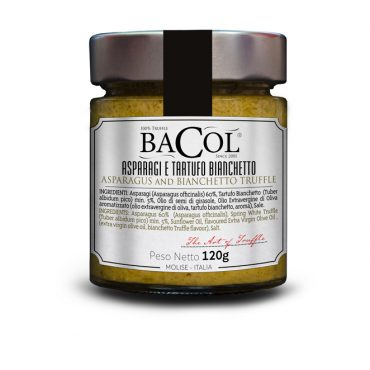 Gourmet_crema_di_Asparagi_e_tartufo_bianchetto_Bacol_prodotto_etichetta